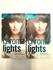 Chroma Lights Temporary Hair Color Spray Metallic Teal NEW 1.5 FL OZ