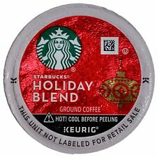 Starbucks 2020 Holiday Blend Ground Coffee Medium Roast, Keurig K Cup Pods