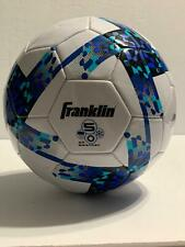 Franklin All Weather Size 5 Soccer Ball Blue Design New