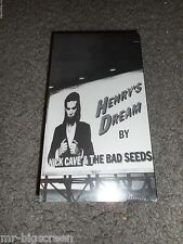 NICK CAVE & THE BAD SEEDS - A VIDEO HISTORY - BRAND NEW & SEALED PROMO VHS -1992