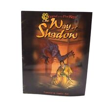 Legend of the Five Rings: The Way of Shadow by Jennifer Wick 1998 AEG Book