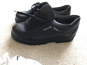 Men's GORETEX CASUAL LEISURE Shoes Mephisto RAINBOW GORE BREAK BLACK UK 10 BNWT