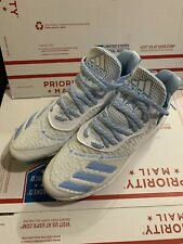 New listing adidas SZ 11.5 Icon Boost Iced Out Mens Baseball Cleats White/Light Blue EF1243