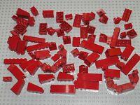 Lot bulk de pièces 100% LEGO Rouge foncé DkRed / LEGO STAR WARS train city ...