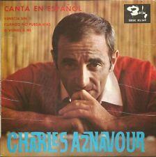 CHARLES AZNAVOUR (SPANISH VERSION)-VENECIA SIN TI + CUANDO NO PUEDA MAS +