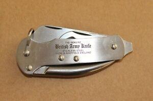 British Army Pocket Knife made in Sheffield England