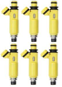 6 Upgrade Fuel injectors for TOYOTA 1FZ-FE LANDCRUISER FZJ78,79,105 LEXUS 450cc