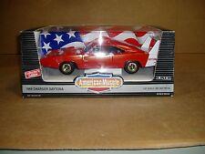 1969 Dodge Daytona Charger Ertl American Muscle NIB box Red 1/18 scale