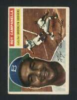 1956 Topps #101 Roy Campanella VGEX Dodgers Grey Backs 126157
