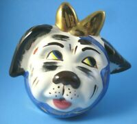 Muggsy Dog String Holder 1998 Limited Edition 36/50 Based on Shawnee Pottery