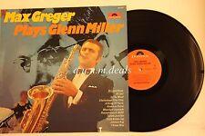 "Max Greger -  plays Glenn Miller - Polydor Records   LP 12"" (VG)"