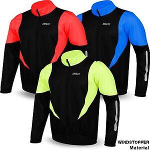 Cycling Winter Jacket Windstopper Thermal Fleece Windproof Long Sleeve Bike Coat