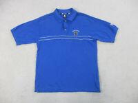 Starter Kentucky Wildcats Polo Shirt Adult Large Blue UK Basketball Mens 90s