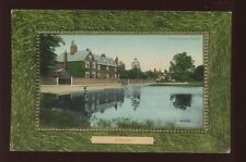 Surrey EPSOM Village Pond c1900/10s? PPC by Valentine