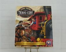 Lionel Trains Trans-Con! PC CD ROM The Race To Connect The Country Has Begun