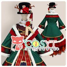 Anime Love Live! Koizumi Hanayo Christmas Idolized Cosplay Red Dress With Hat
