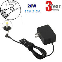 """AC Laptop Power Charger for Samsung 11.6"""" Chromebook Xe303c12 XE303C12-A01 26W"""