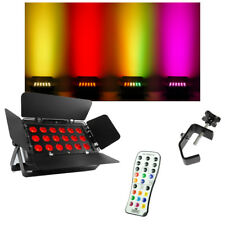 Chauvet DJ Lighting SlimBANK T18 USB RGB Wash Light w/ Remote & Clamp Package
