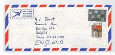 BOTSWANA Cover *Selibe Phikwe* Commercial Air Mail 1977 {samwells} FLOWERS BT217