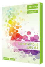100 x Laminierfolien DIN A4 80 Mikron Laminiertasche Laminierfolie Din A4