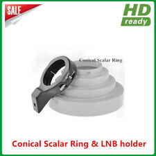 100% Aluminum Conical Scalar Ring Kit with 65MM LNB holder