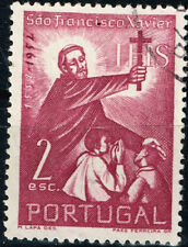 Portugal Famous missionary Saint Francis Xavier in China stamp 1952