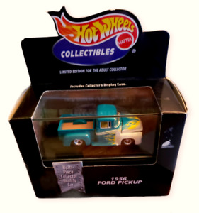 '98 Hot Wheels Collectibles Black Box Limited Edition Green '56 Ford Pickup 1:64