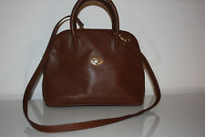 Vintage Burberrys of London brown leather women s handbag f52682ebdea92