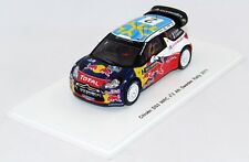 CITROEN DS3 WRC #2 4th SWEDEN RALLY 2011 N°S3301 1/43 SPARK