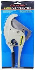 "63mm PVC Pipe Cutter Cuts up to 2-1/2"" pipe capacity"