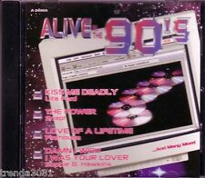 Alive in 90s PLATINUM CD Classic Greatest Rock LITA FORD FIREHOUSE WARRANT