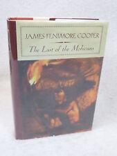 James Fenimore Cooper  THE LAST OF THE MOHICANS  Barnes & Nobel Classics HC/DJ