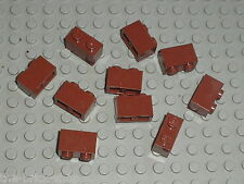 LEGO STAR WARS RedBrown bricks 1x2 ref 3004 / Set 10144 10199 7662 5378 10188 ..