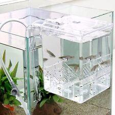 Spawning BOX 0.7L Satellite Hanging Outside Breeding Aquarium Fish Tank Fry