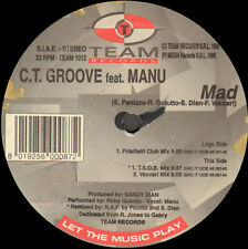 C.T. GROOVE - Mad, Feat. Manu - Team