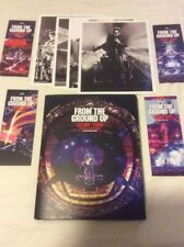 U2 Book From The Ground Up 2012 360 Tour Photobook +4 Pics +4 Bookmarks No CD