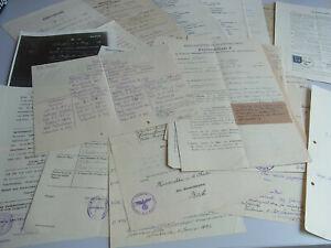 Convolute Documents 1869-1943: Genealogy Fam. Kullmann & Poelmann