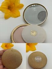 New listing New Vintage Dorothy Gray Secret Of The Sea Goldtone Powder Compact 2375