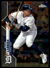 2020 Topps Chrome Base #6 Miguel Cabrera - Detroit Tigers