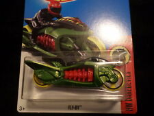 HW HOT WHEELS 2017 HW DAREDEVILS #6/10 FLY-BY  GREEN HOTWHEELS VHTF