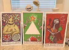 Haunted Mansion Holiday Tarot Cards Giant Halloween Prop 17x28 Disneyland Mnsshp