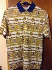 Arnold Palmer Golf Men's Polo Shirt Size Medium Double Mercerized Cotton