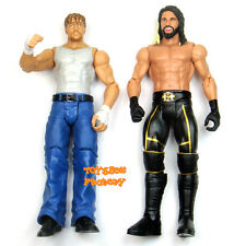 2x WWE The Shield Dean Ambrose VS Seth Rollins Action Figures Toys Battle Pack