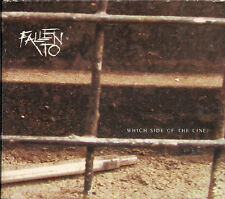 Fallen To Which Side Of The Line 2 × CD EP in quadfold digipack UK CD