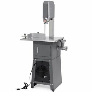 Professional Meat Cutting Band Saw with Built-in Grinder 3/4 hp motor meatsaw