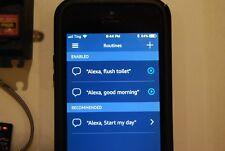 Amazon - Flush Toilet Echo Alexa - Wi-Fi Voice Control Home Automation Kit