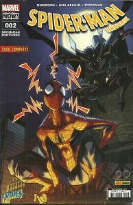 """Livre BD Marvel """"SPIDER-MAN"""" n° 2 septembre 2017."""