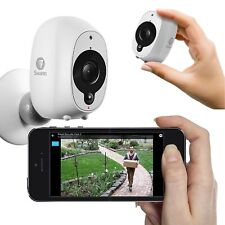 Swann Smart Wireless Security Camera 1080p HD Audio PIR Heat Motion Sensor IP65