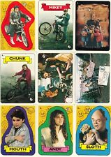 THE GOONIES MOVIE 1986 TOPPS BASE CARD & STICKER SET 86 + 22