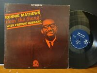 RONNIE MATHEWS WITH FREDDIE HUBBARD - DOIN' THE THANG! RVG 1964 Prestige VG+ LP!